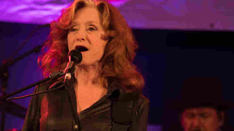 Bonnie Raitt performs live at WXPN's Non-COMMvention at World Cafe Live in Philadelphia.
