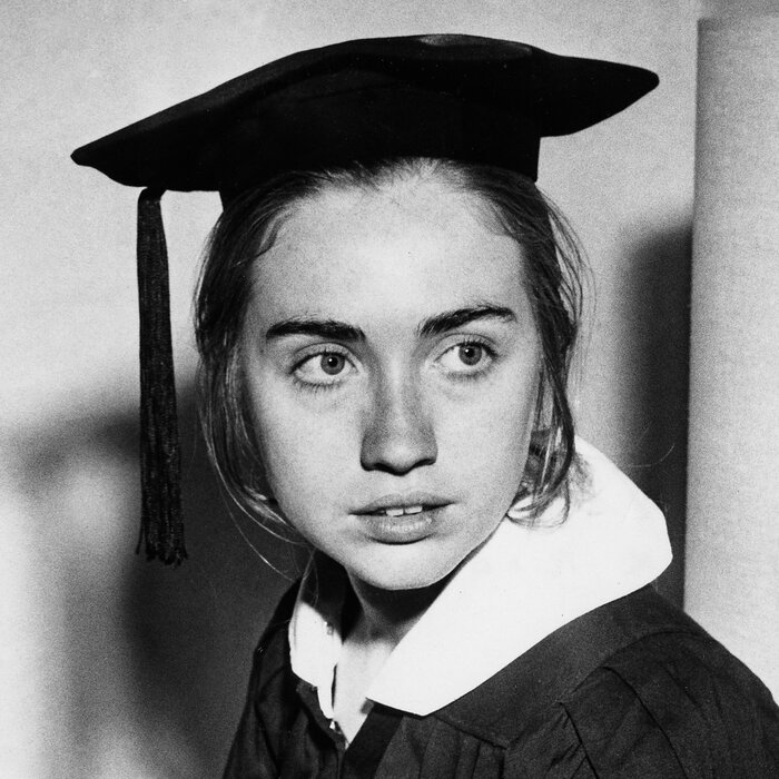 Taking On A U.S. Senator As A Student Propelled Clinton Into The Spotlight