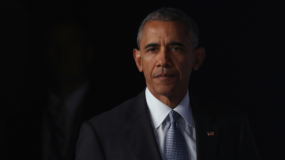 President Obama at the NATO summit in Poland earlier this month. (Sean Gallup/Getty Images)