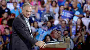 Sen. Tim Kaine spoke Spanish at a rally earlier this month in Miami, where he was announced as Hillary Clinton's vice presidential running mate.