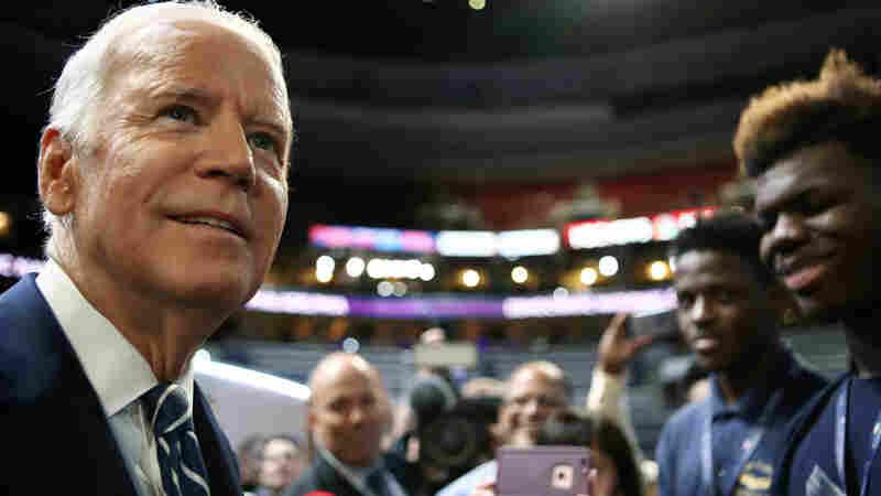 As Joe Biden Steps Into DNC Spotlight, A Lingering 'What If'
