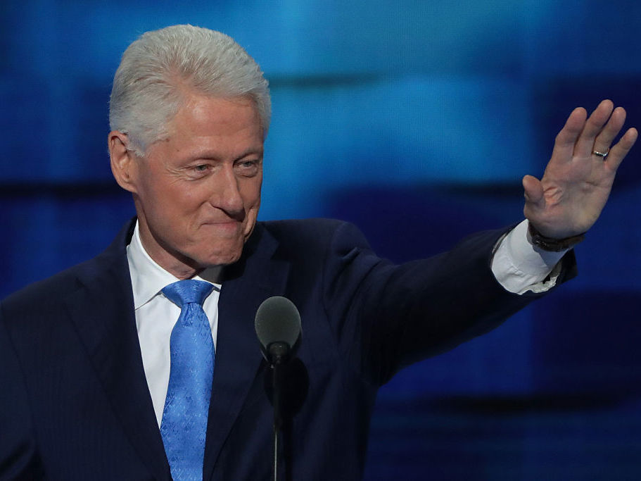 Donald Trump Storms Twitter To Whine About Bill Clinton's DNC Speech