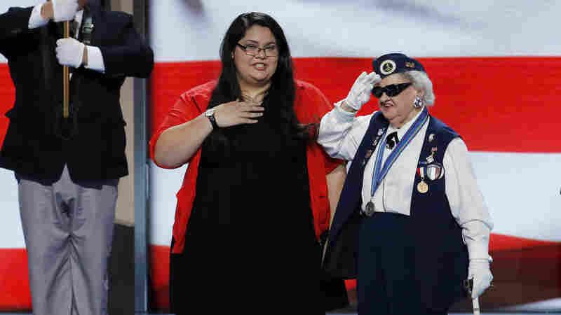 DNC's Oldest Delegate's Life Spans Early Days Of Suffrage To Historic Nomination