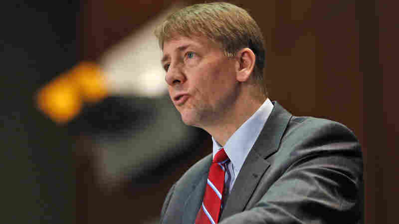 Richard Cordray, shown here at a March 2015 hearing, directs the Consumer Financial Protection Bureau, which has proposed new rules to overhaul the multi-billion dollar debt collection industry.)