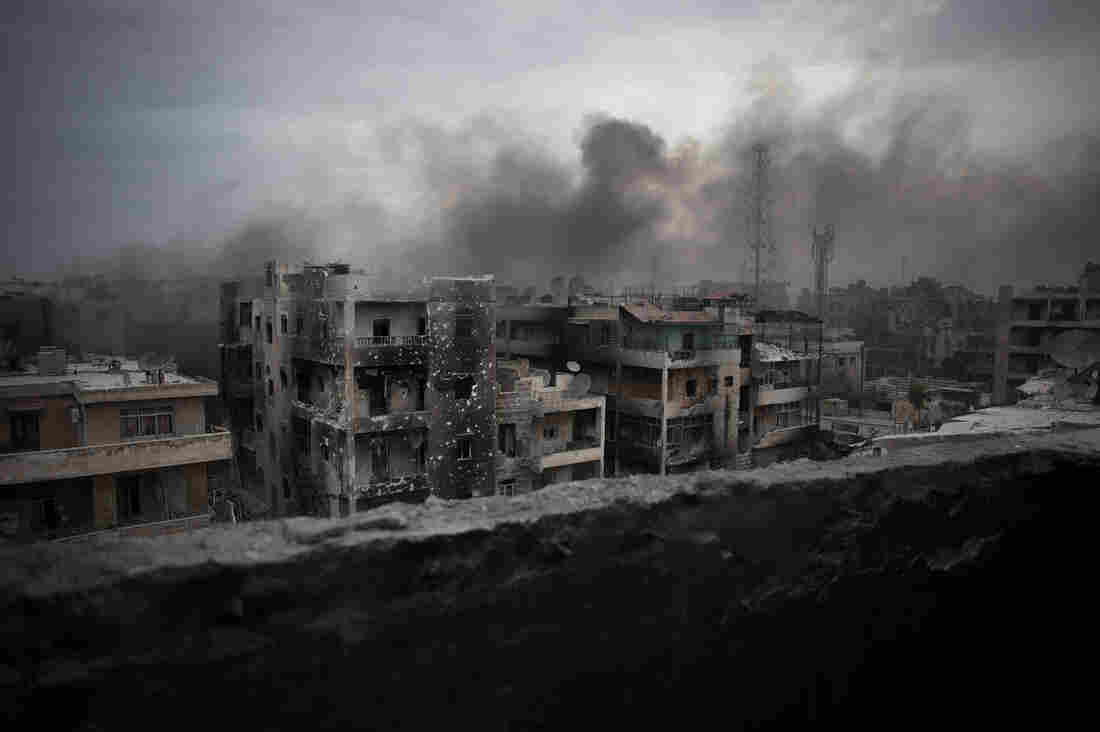 Russia, Syria Pledge 'Humanitarian Corridors' Out Of Rebel-Held Parts Of Aleppo