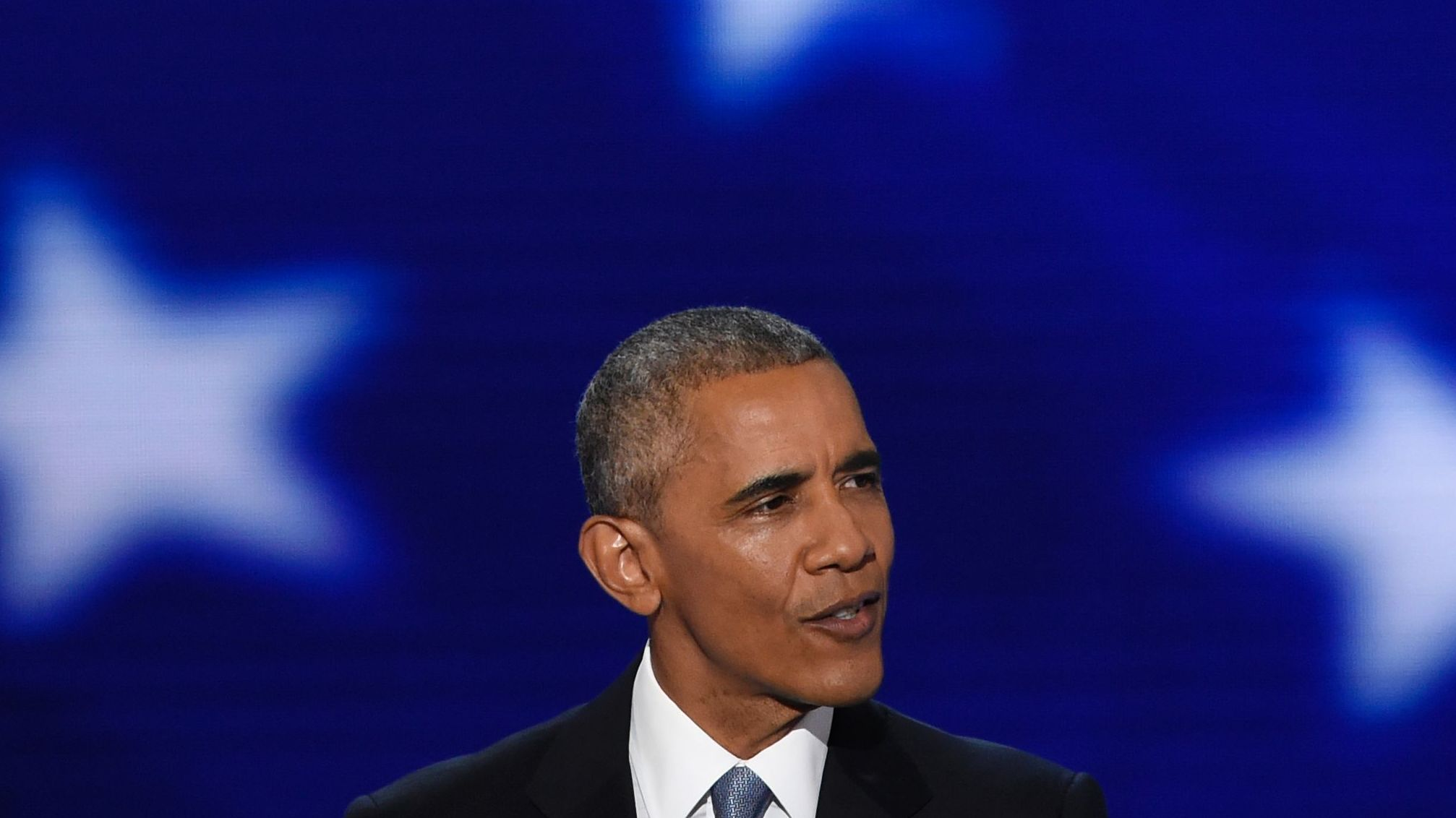 President Obama's Speech At The Democratic Convention