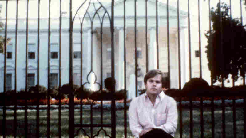 This undated photo was taken of John Hinckley Jr. in front of the White House. He attempted to assassinate President Ronald Reagan in D.C. on March 30, 1981.