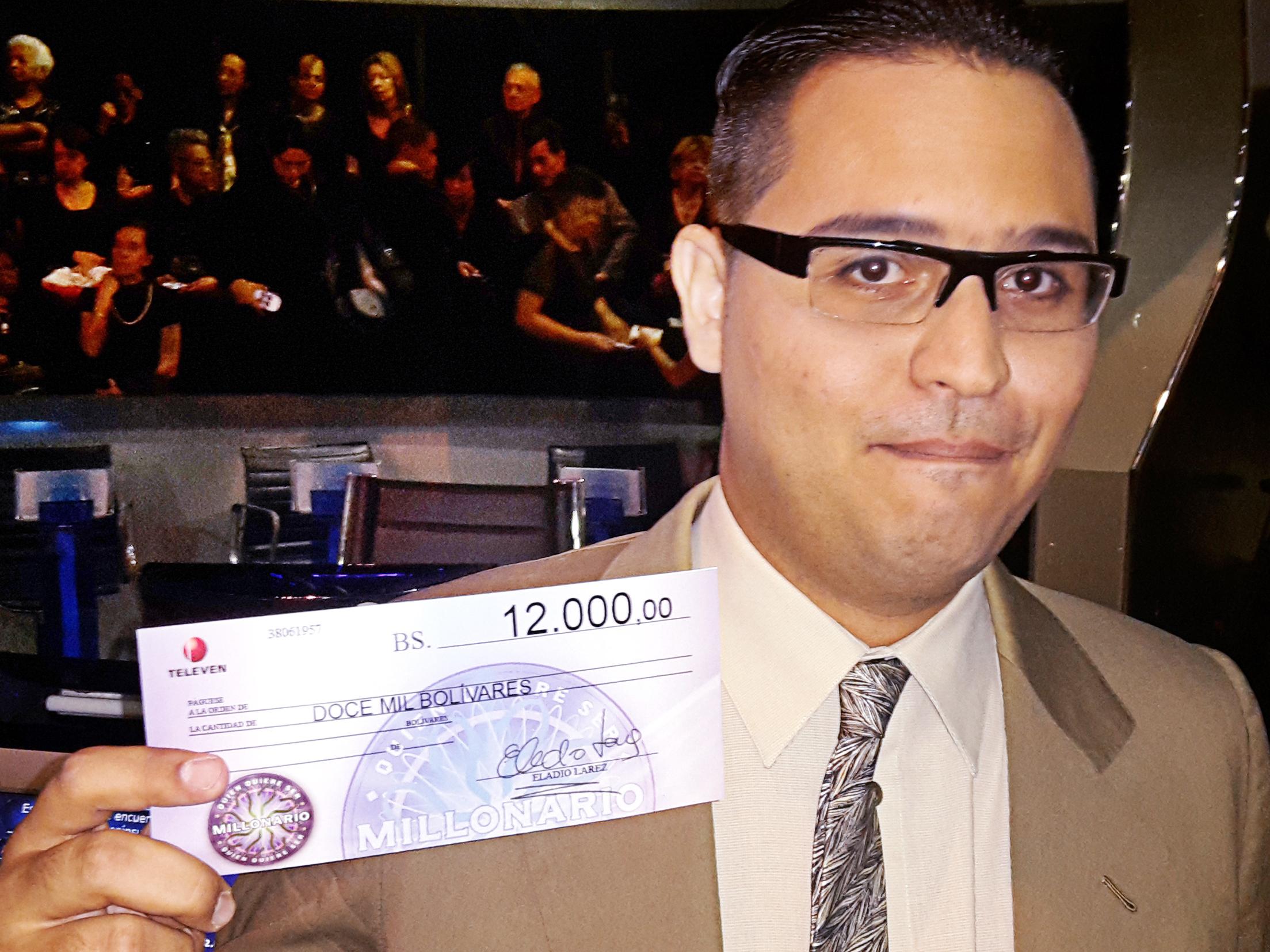 For Venezuela's 'Millionaire' Contestants, Winnings Amount To A Few Bucks