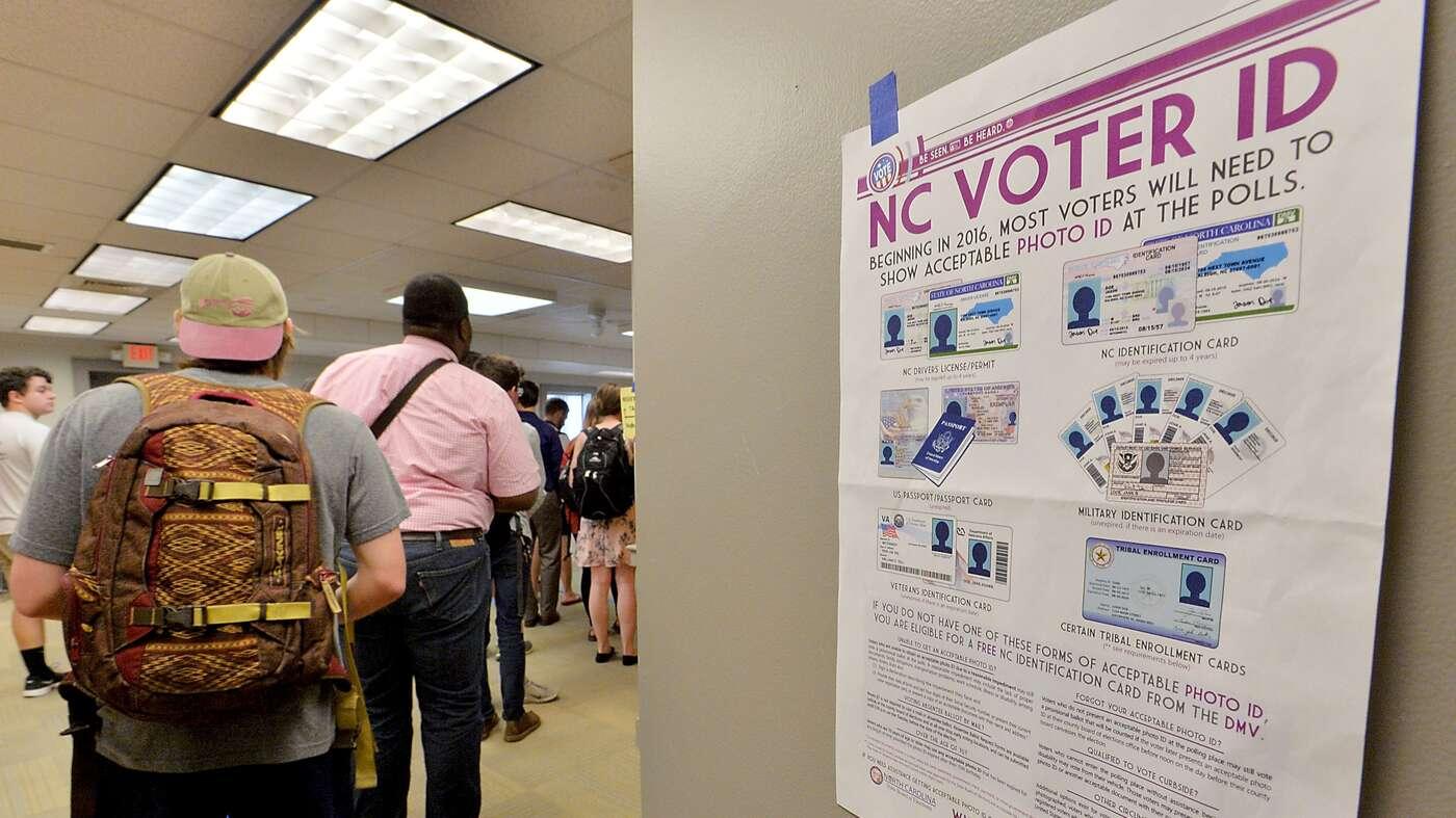 U.S. Appeals Court Strikes Down North Carolina's Voter ID Law