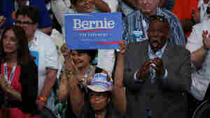 For Sanders Supporters, Clinton's Historic Nomination Brings Mixed Emotions