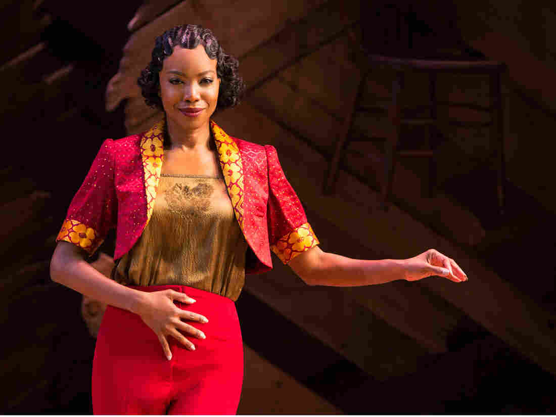 Singer and actress Heather Headley returns to Broadway after 15 years to play the role of Shug Avery in a revival of The Color Purple.