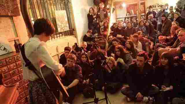 Hear an interview with Sofar Sounds' Rafe Offer, who wants you to see bands in intimate venues.