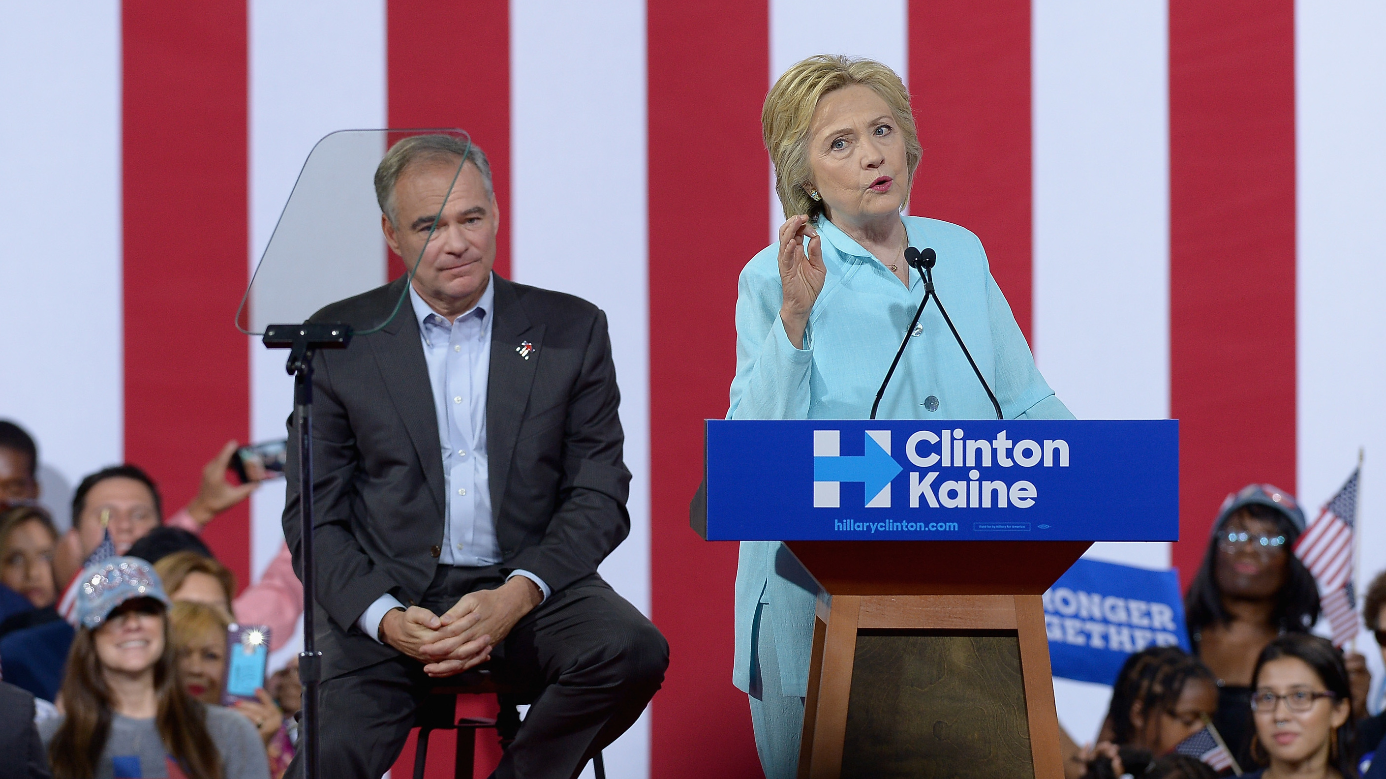 The Policy Split Between Clinton And Kaine On Abortion, Explained