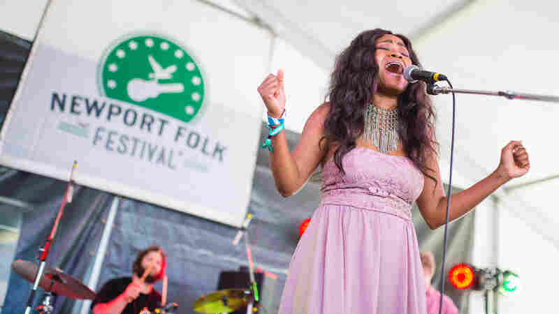 Ruby Amanfu, Live In Concert: Newport Folk 2016