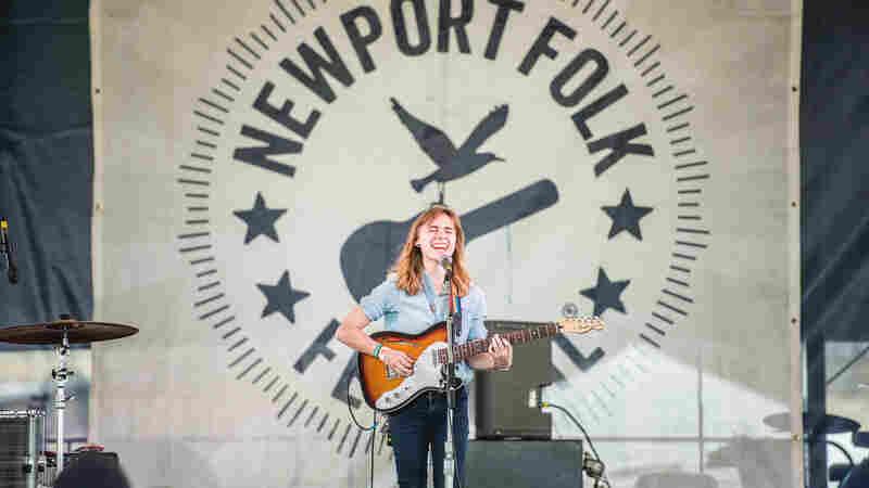 Julien Baker, Live In Concert: Newport Folk 2016