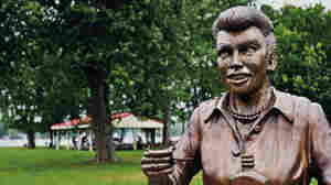 A New Lucille Ball Statue Replaces 'Scary' One In Her Hometown