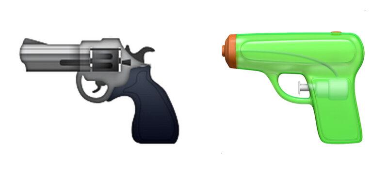 Apple Emojis Replace Pistol Emoji With Water Gun : The Two