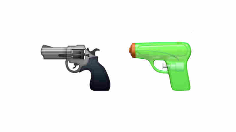 Apple Ditches Pistol Emoji In Favor Of Water Gun
