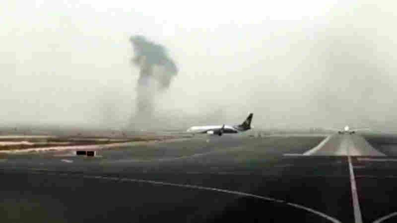 Emirates Plane Makes Emergency Landing, Bursts Into Flames In Dubai
