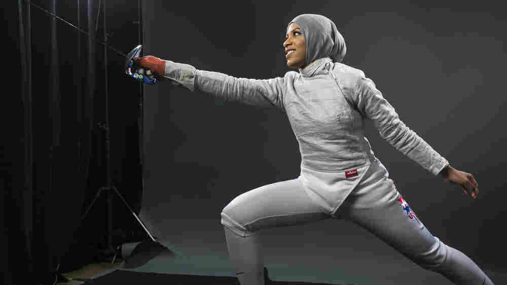 An American Muslim Fencer Lunges Into U.S. Olympic History In Rio
