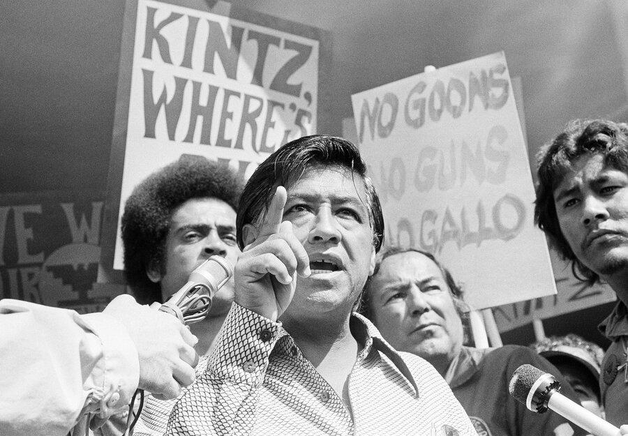 Cesar Chavez Fasting Protest