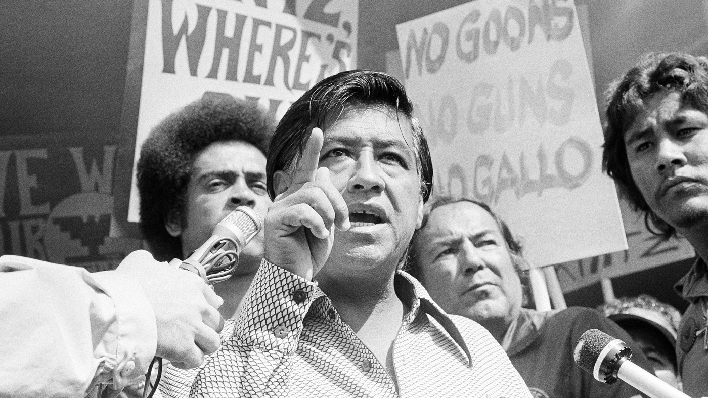 Cesar Chavez: The Life Behind A Legacy Of Farm Labor Rights : NPR