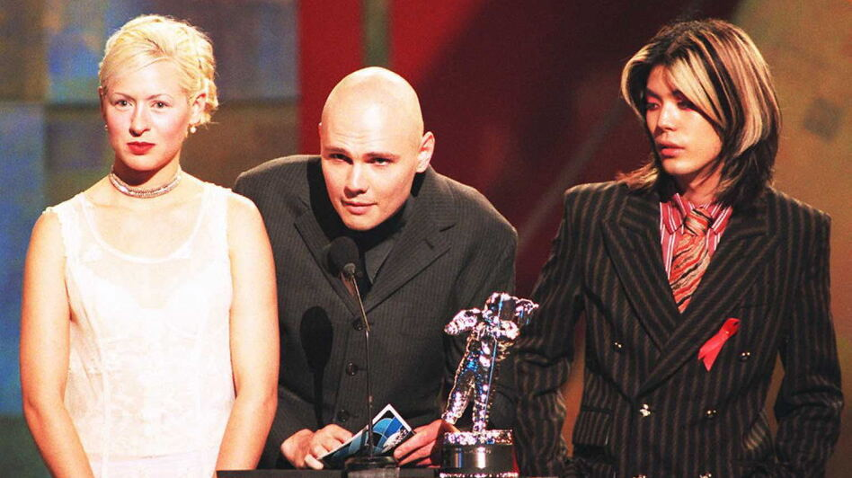 The Smashing Pumpkins in 1996, three years after their mainstream breakout with 1993's Siamese Dream. (AFP/Getty Images)