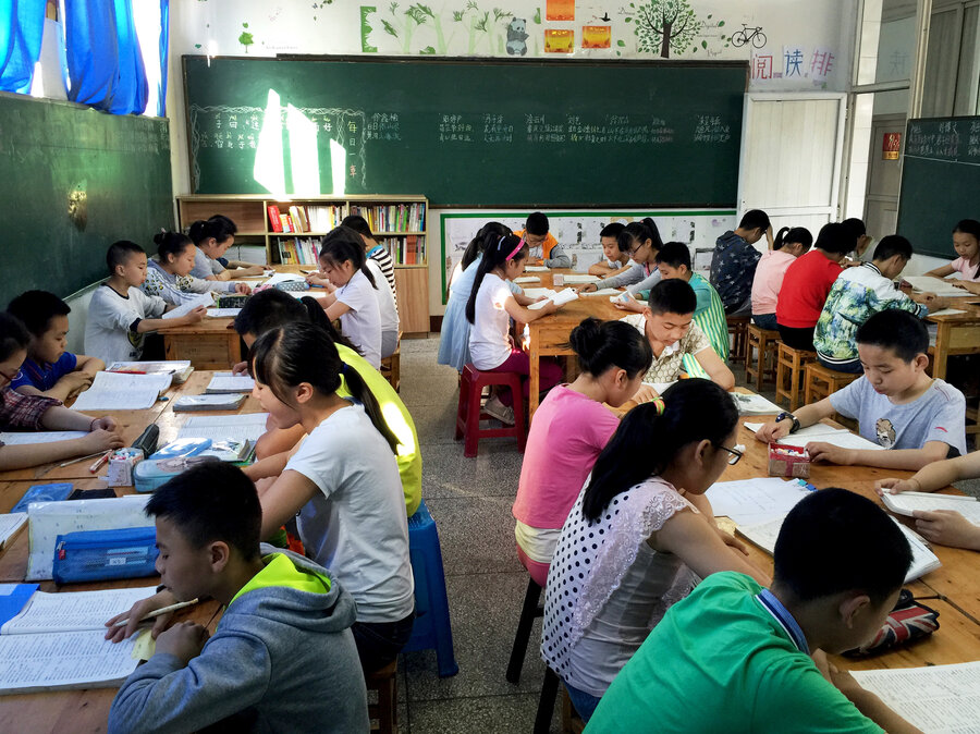 In China Some Schools Are Playing With More Creativity Less