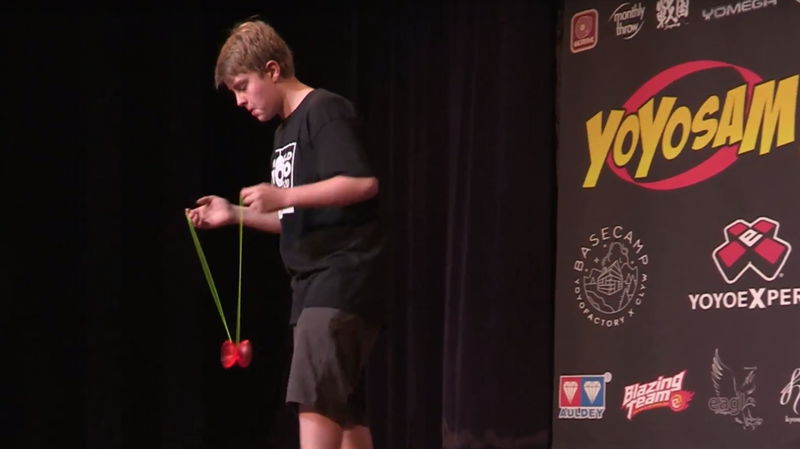 Watch This Competition To Learn The Divine Secrets Of The Yo-Yo Brotherhood