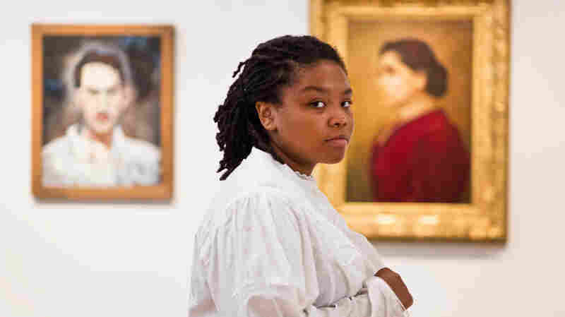At The Portrait Gallery, Students Tell The Stories That Pictures Can't