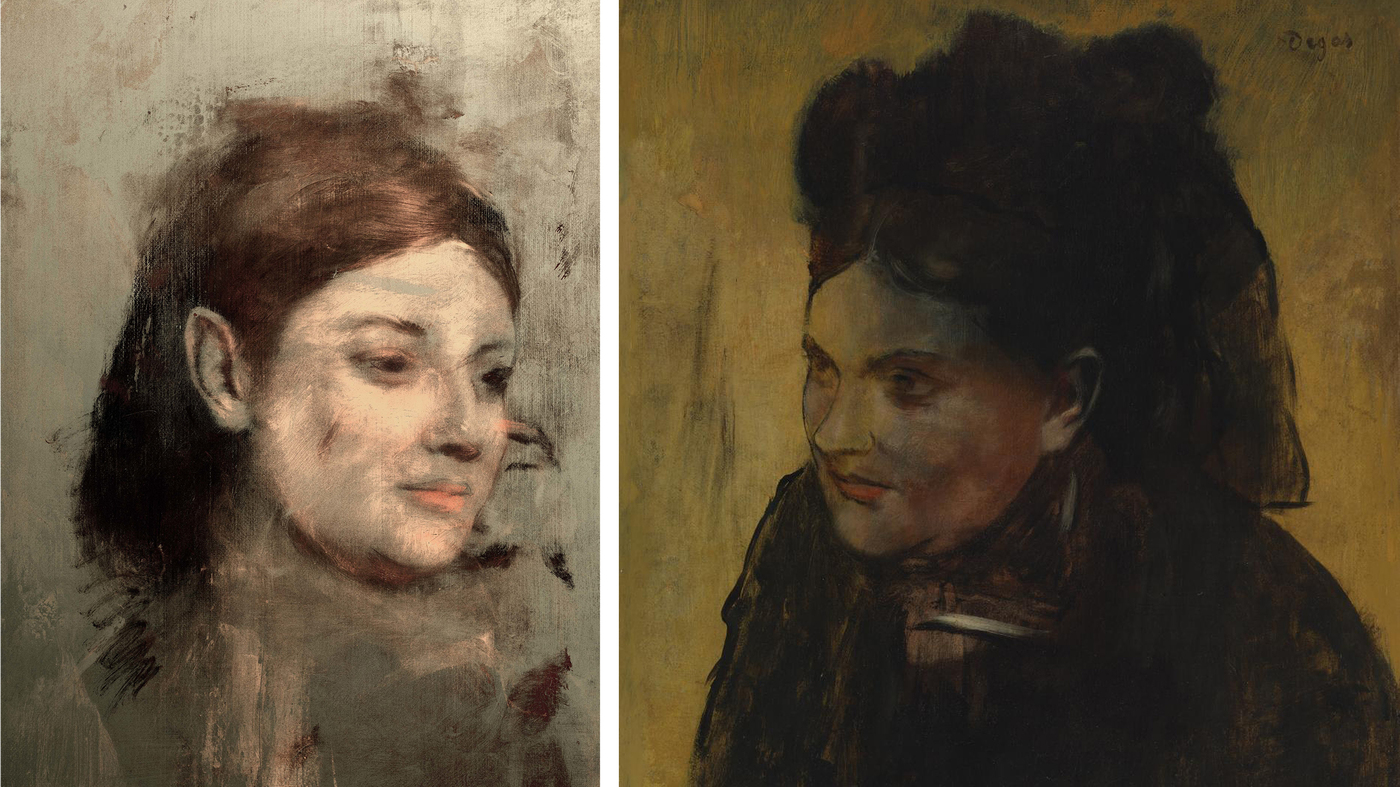 X-Rays Reveal Hidden Portrait Under Painting By Edgar Degas