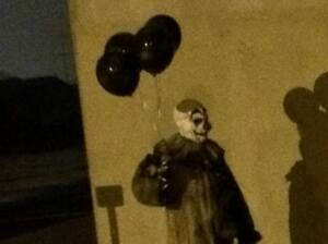 Gags, the Green Bay Clown, as seen on a Facebook fan page.