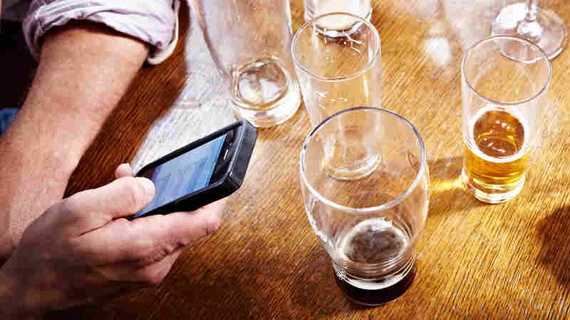 At This English Bar, An Old-School Solution To Rude Cellphones