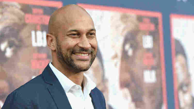 Actor Keegan-Michael Key attends a premiere at Paramount Studios on May 10, 2016 in Hollywood.