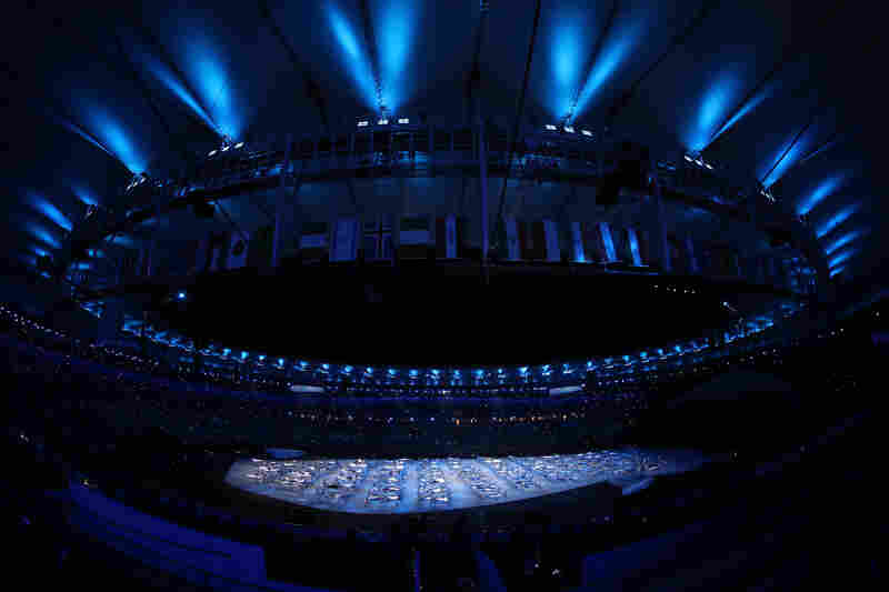 """""""I hope that the Opening Ceremony will be a drug for depression in Brazil,"""" film director Fernando Meirelles said of the show in Rio de Janeiro."""