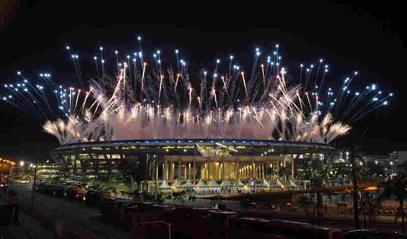 The Opening Ceremony's directors this week, worked with a budget that was a fraction of the amount spent to launch the last two Summer Olympics, in London and Beijing.