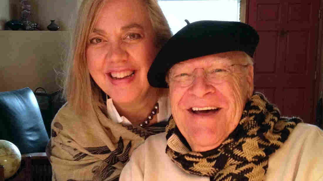Actor David Huddleston, pictured with his wife, Sarah Koeppe, was nominated for an Emmy in 1990 for his role as the grandfather on The Wonder Years.