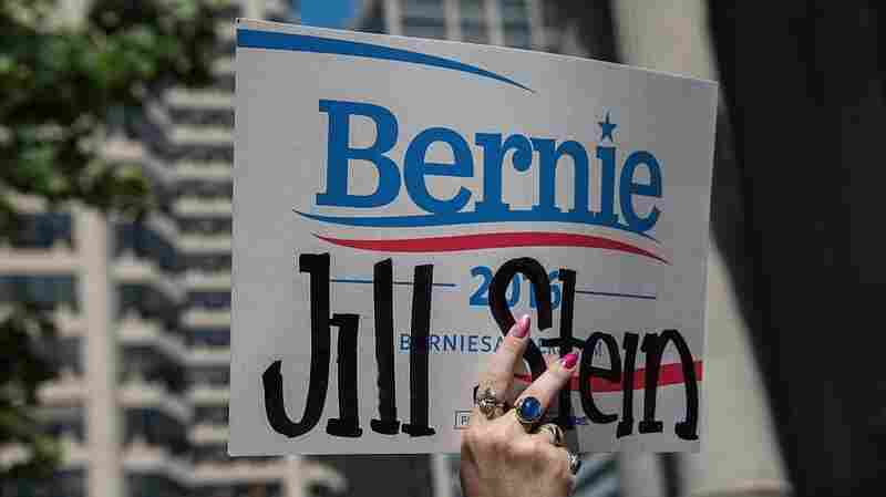 Some Bernie Sanders Supporters Finding A New Home Within The Green Party