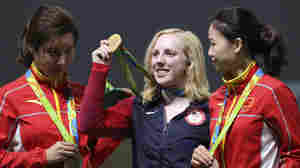 U.S. Teenager Ginny Thrasher Wins The First Gold In Rio, In Air Rifle