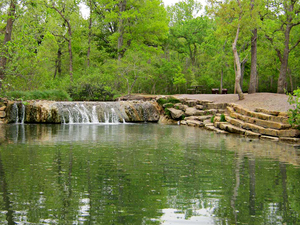 The Chickasaw National Recreation Area used to be called Platt National Park until 1976, when it lost its status as a national park.