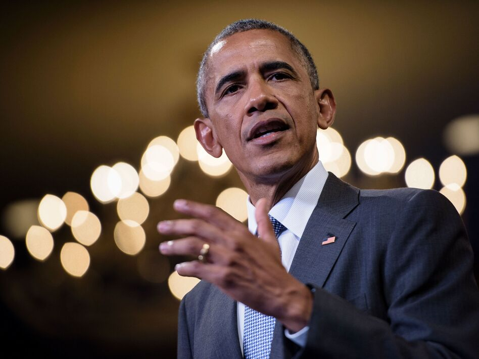 President Obama speaks at the Presidential Summit of the Mandela Washington Fellowship for Young African Leaders on Aug. 3 in Washington, D.C. (AFP/Getty Images)
