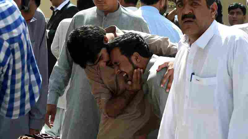 Suicide Bombing At Hospital In Pakistan Kills More Than 60 People