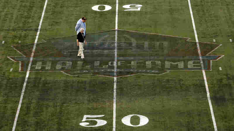 NFL Hall Of Fame Game Called Off Due To 'Congealing And Rubberized' Field Paint