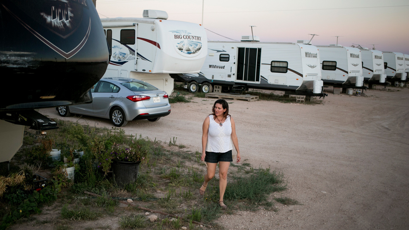 Texas Towns Fortunes Rise And Fall With Pump Jacks Oil Prices NPR