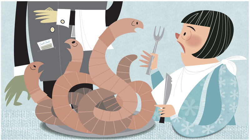 Earthworms Are A Source Of Protein Calcium And More So Why Don T