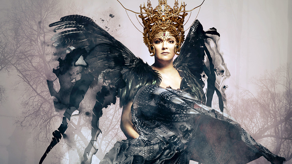 Soprano Anna Netrebko's new album, Verismo, is out Sept. 2. (Deutsche Grammophon)