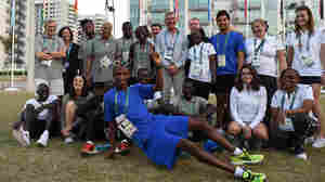 For Refugee Team, Just Being In Rio Is Like Winning Gold
