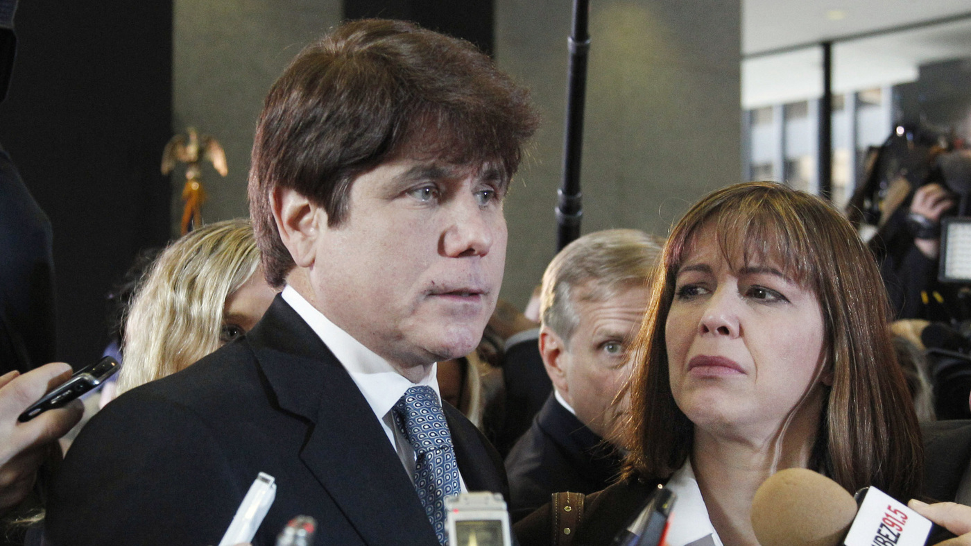 Rod Blagojevich Gets No Break In Sentence : The Two-Way : NPR
