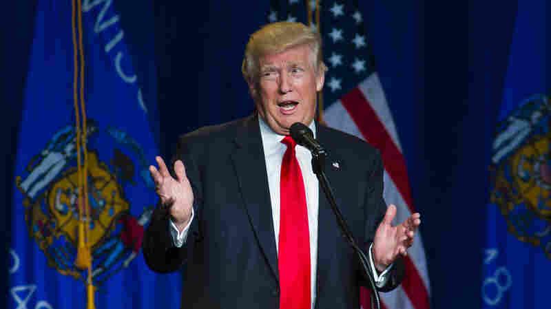 Donald Trump's Controversial Speech Often Walks The Line
