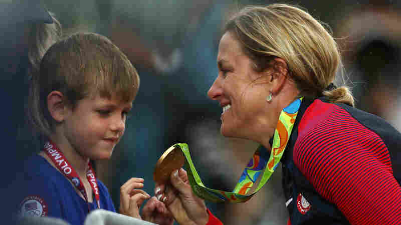 'Because I Can': Cyclist Kristin Armstrong Wins Third Gold Medal At Age 42
